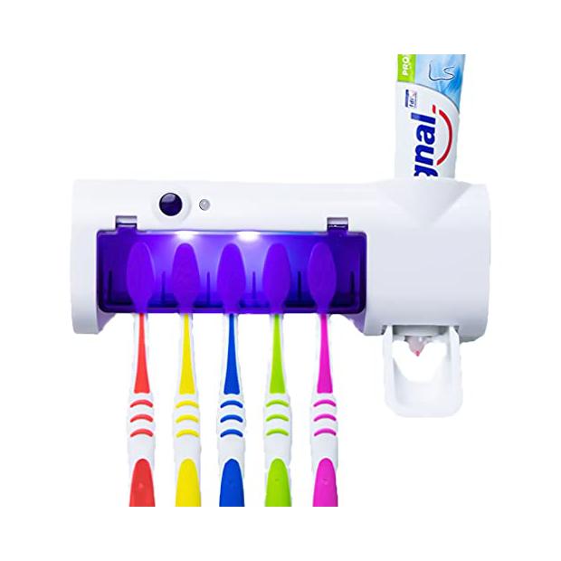 Dispensadores de pasta de dientes de pared