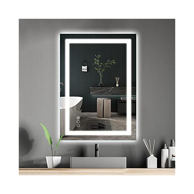 Espejos de baño con LED integrado