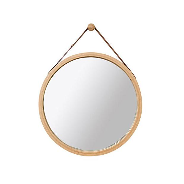Espejos de baño de madera