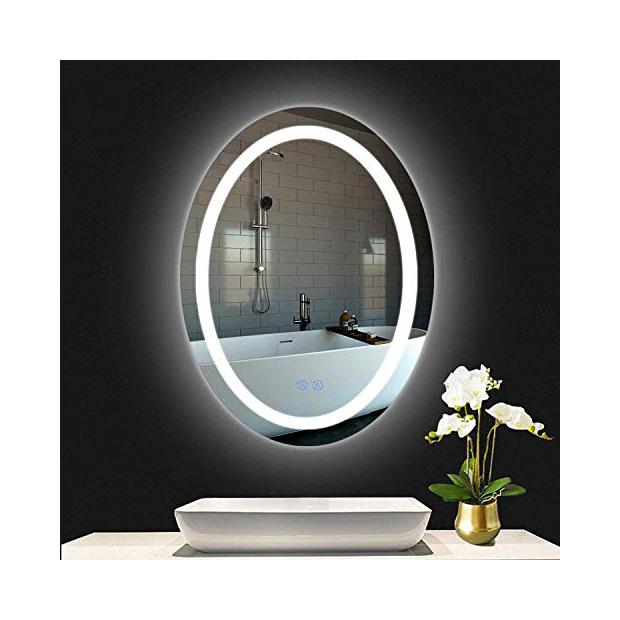 Espejos de baño ovalados