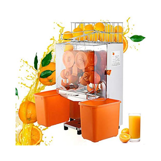 Exprimidores industriales para naranjas