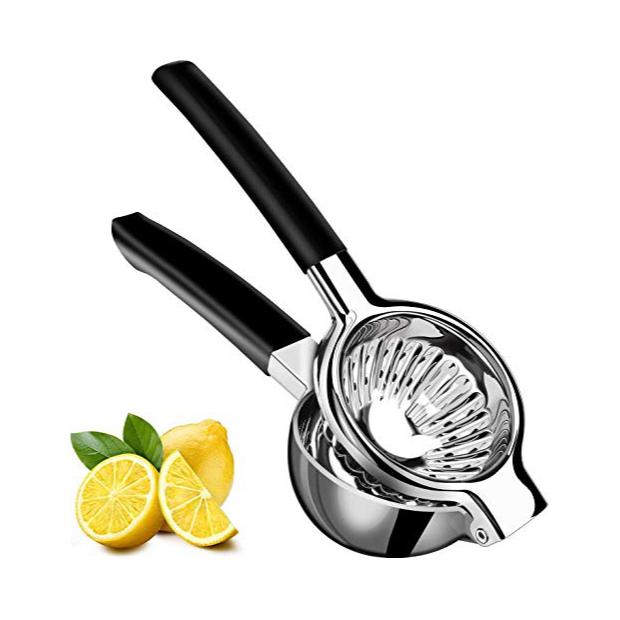 Exprimidores manuales en acero inoxidable para naranjas