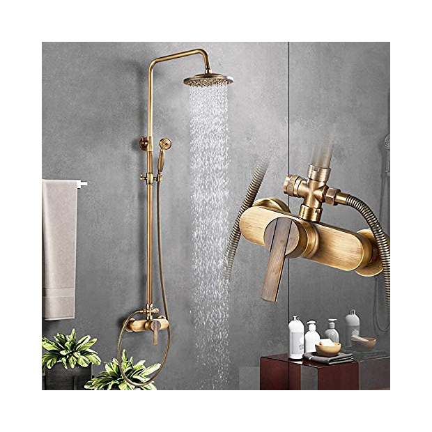 Grifos de ducha de bronce
