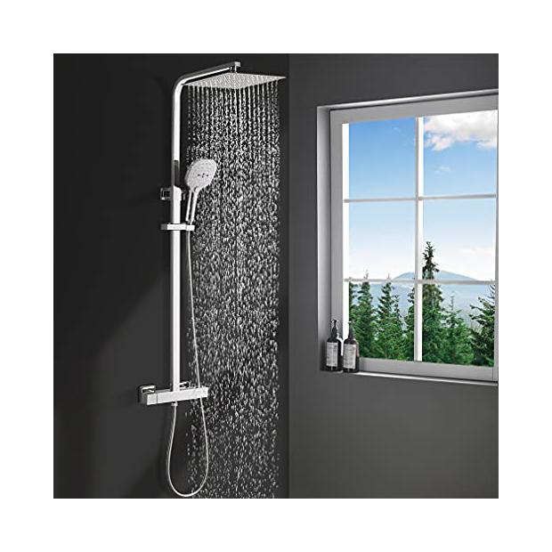 Grifos de ducha telescópicos