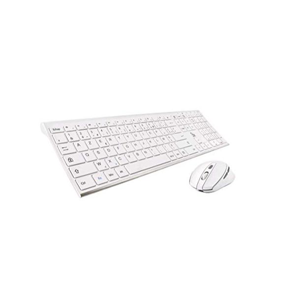 Kits de teclado y ratón inalámbrico ergonómicos