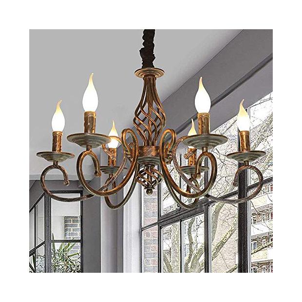 Lámparas antiguas de bronce
