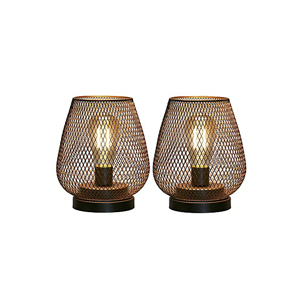 Lámparas de mesa a pilas