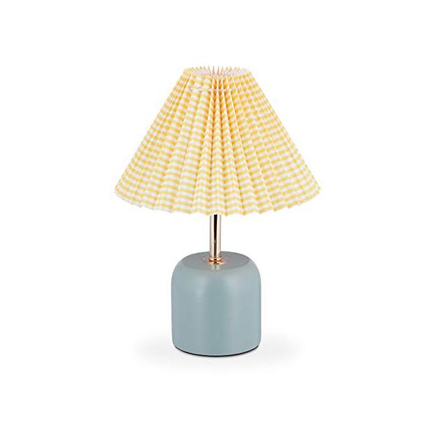 Lámparas de mesa amarillas