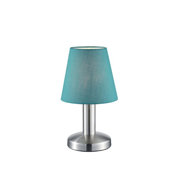 Lámparas de mesa azules turquesa