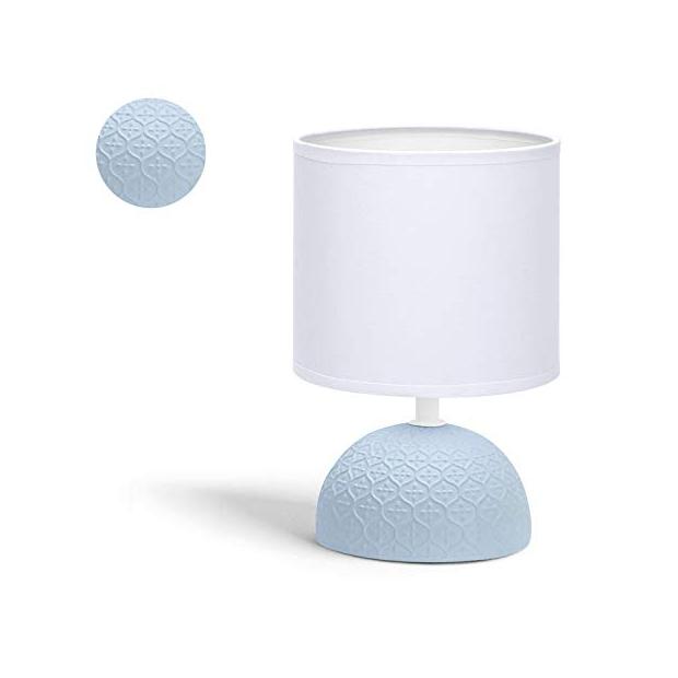 Lámparas de mesa azules