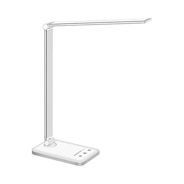Lámparas de mesa blancas