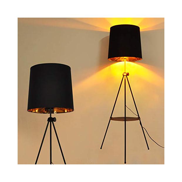 Lámparas de mesa con foco de cine