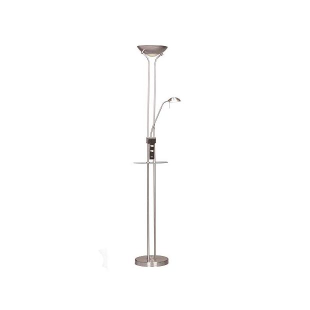 Lámparas de mesa con pie de cristal
