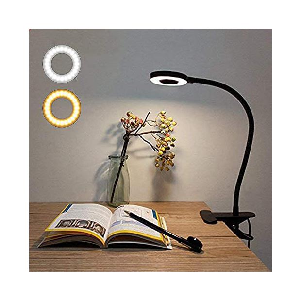 Lámparas de mesa con pinza