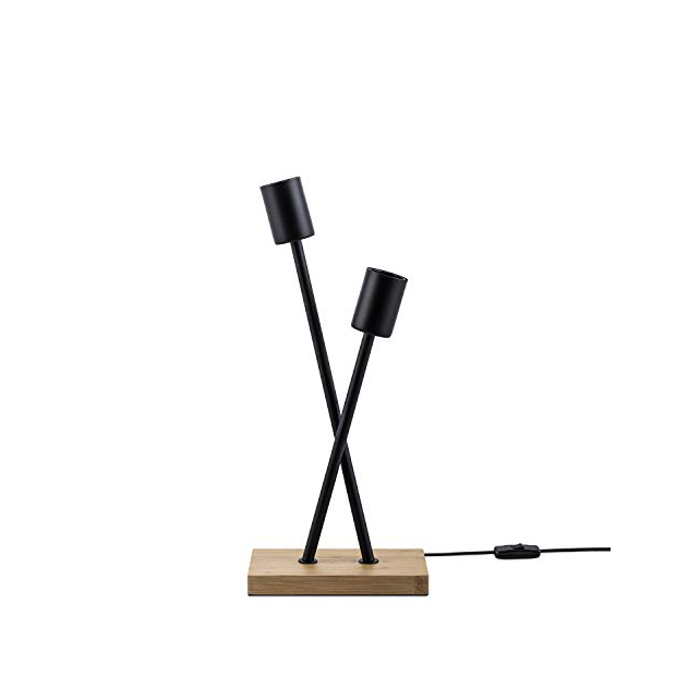 Lámparas de mesa de bambú