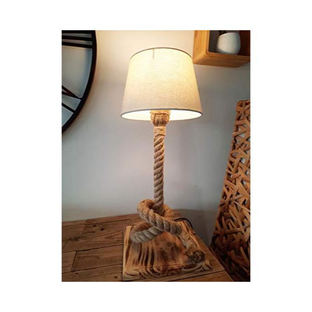 Lámparas de mesa de cuerda