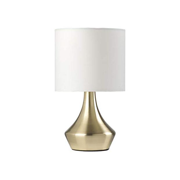 Lámparas de mesa doradas