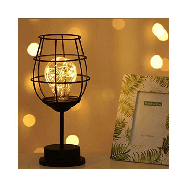 Lámparas de mesa estilo quinque