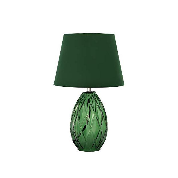Lámparas de mesa verdes
