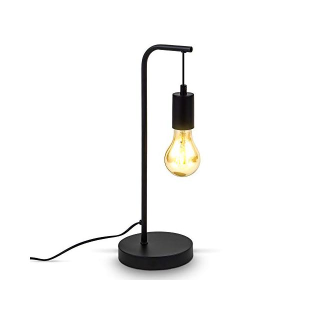Lámparas de mesa vintage metal