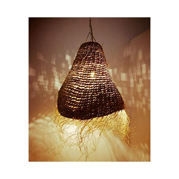 Lámparas de paja