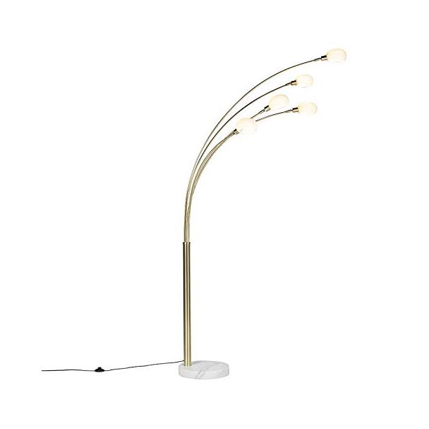 Lámparas de pie 5 luces