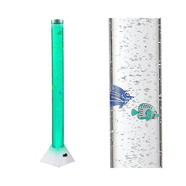 Lámparas de pie LED columna de agua