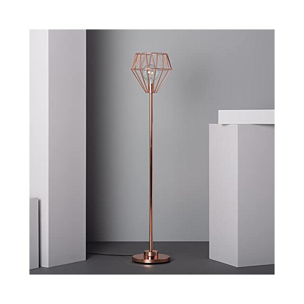 Lámparas de pie cobre