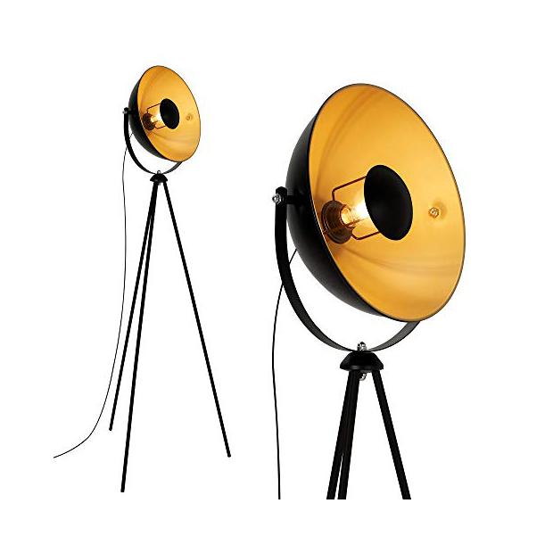 Lámparas de pie industriales vintage