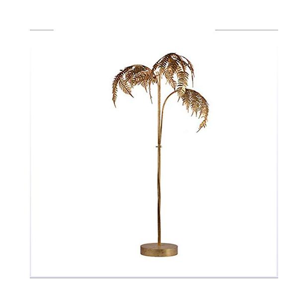 Lámparas de pie palmera