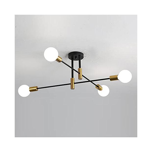 Lámparas de techo 4 luces