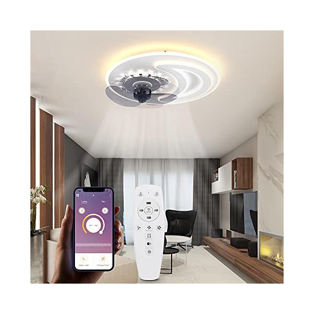 Lámparas de techo a control remoto