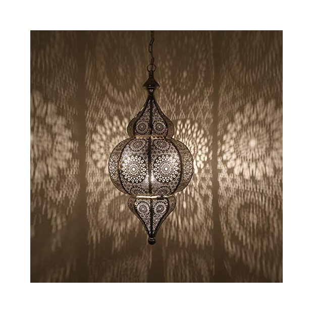 Lámparas de techo árabe grandes