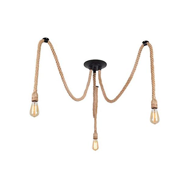 Lámparas de techo con cuerda