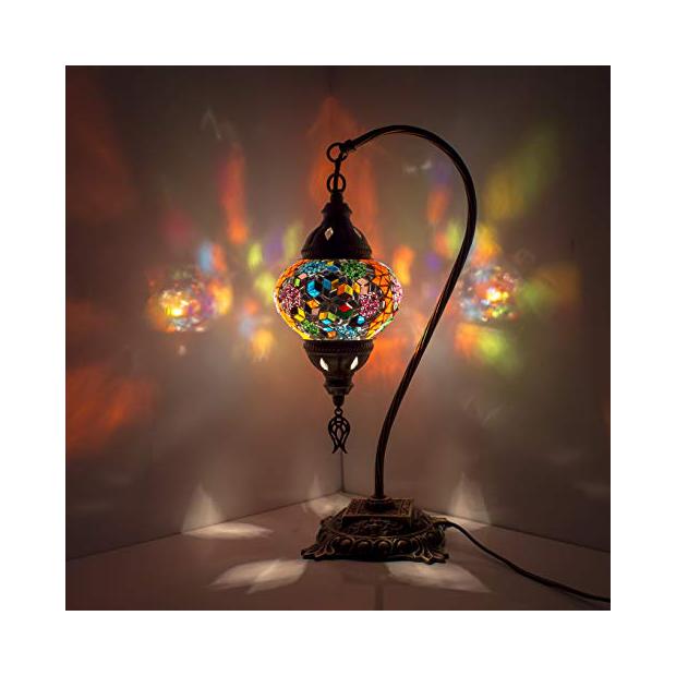 Lámparas de techo con estilo árabe