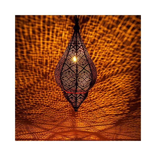 Lámparas de techo con estilo oriental