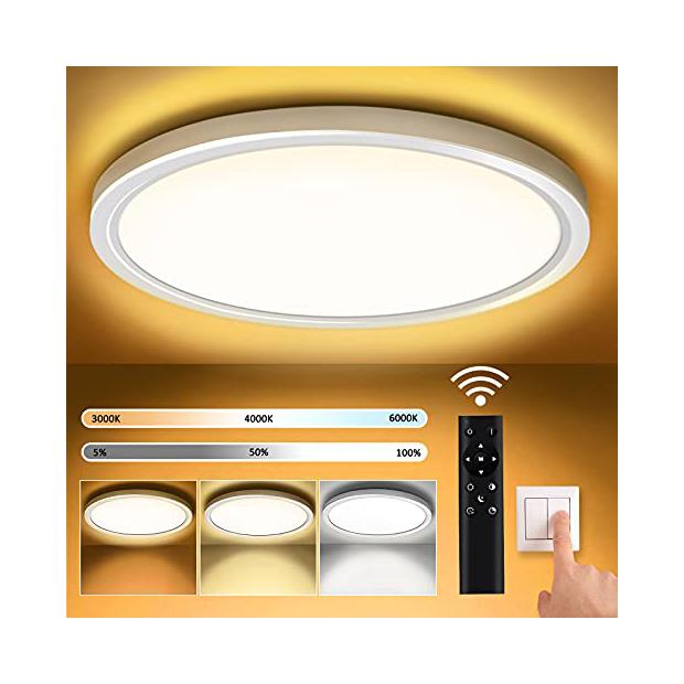 Lámparas de techo con mando a distancia