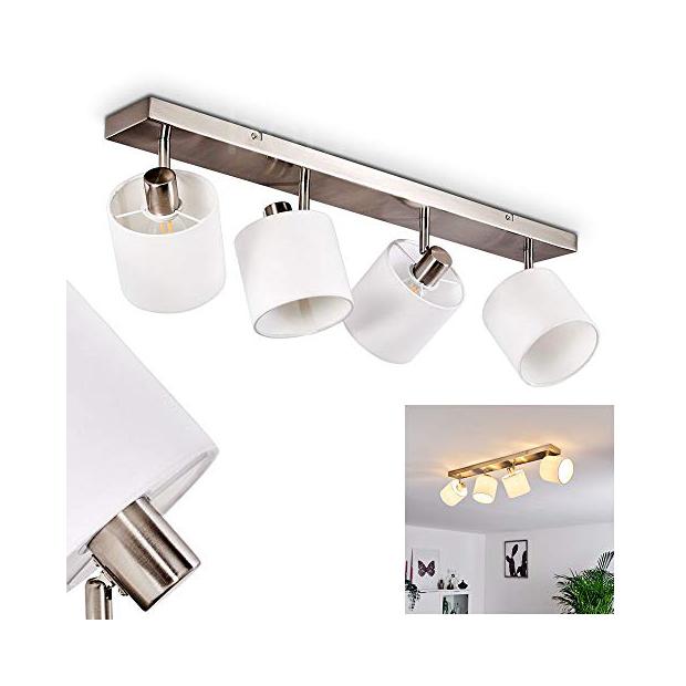 Lámparas de techo con pantalla de tela