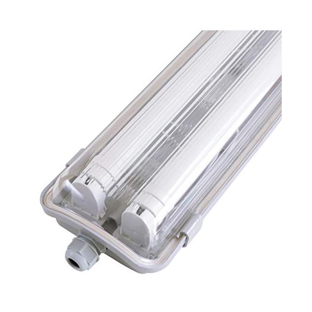 Lámparas de techo con tubos de pvc