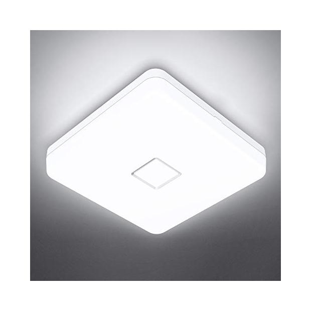 Lámparas de techo cuadradas