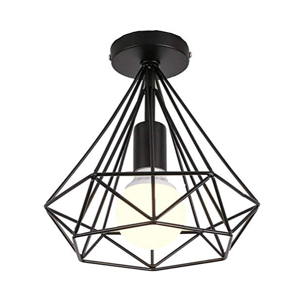 Lámparas de techo de alambre