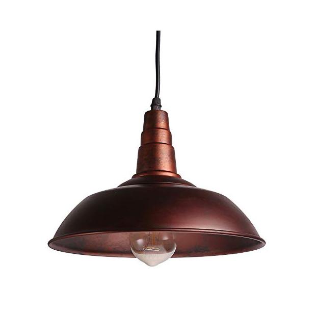 Lámparas de techo de cobre