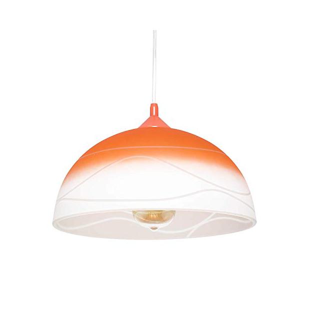 Lámparas de techo de color naranjas
