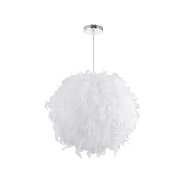 Lámparas de techo de pluma