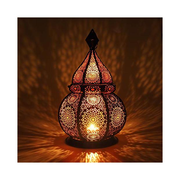 Lámparas de techo de tela hindú
