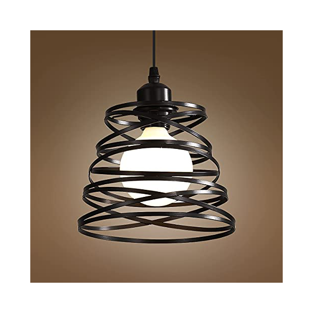 Lámparas de techo en forma de espiral