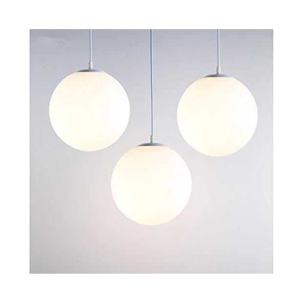 Lámparas de techo esfera blancas