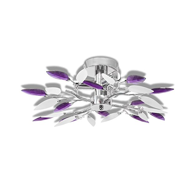 Lámparas de techo lila