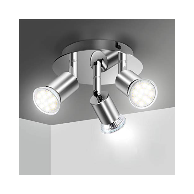 Lámparas de techo orientables
