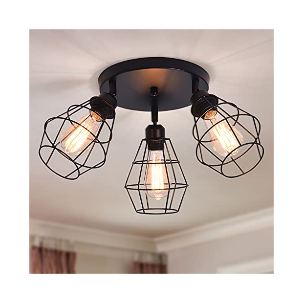 Lámparas de techo para casa rústicas